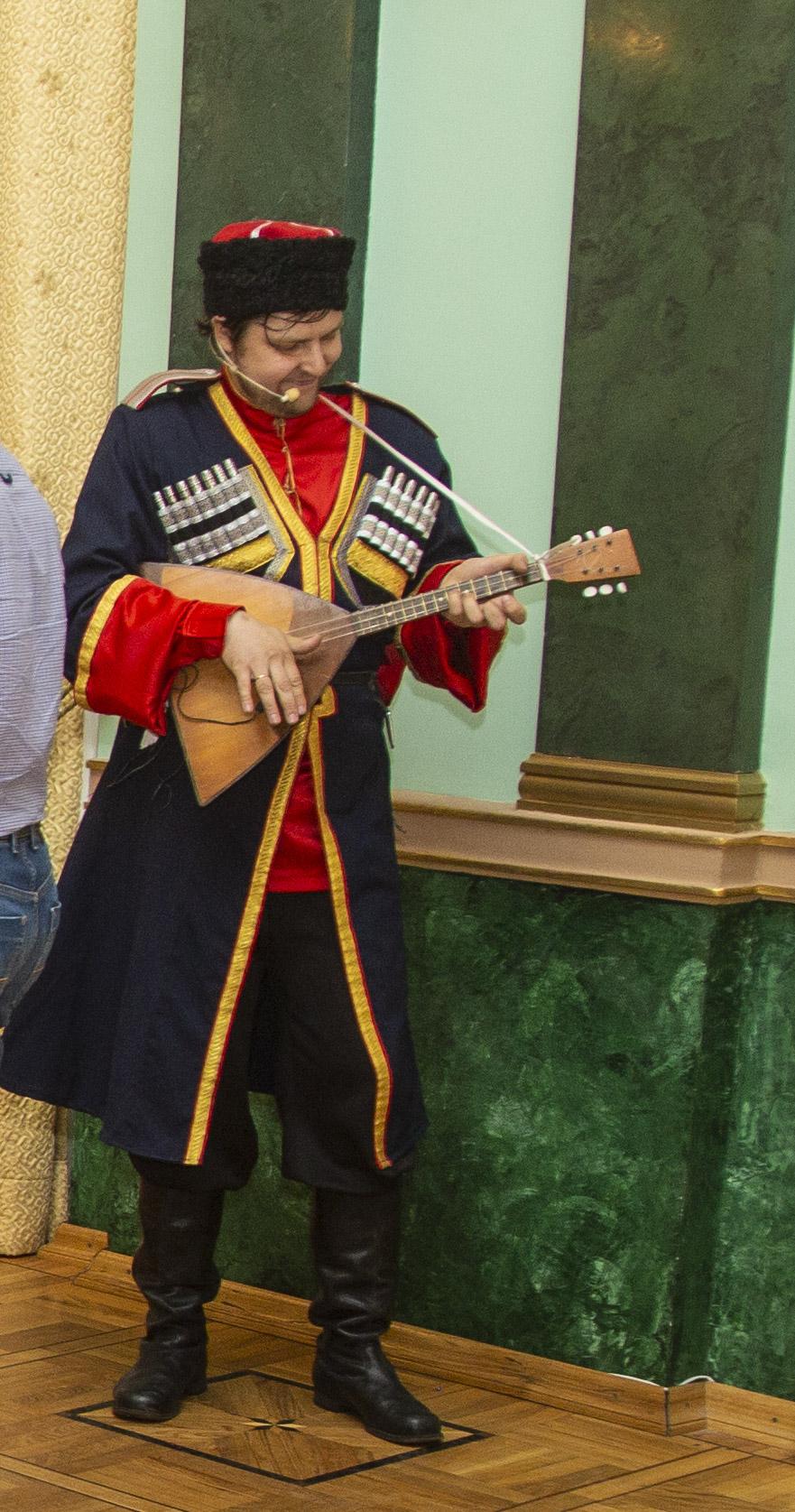 казачий ансамбль на праздник